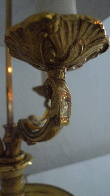 Bouillotte Lamp 19th Century 5