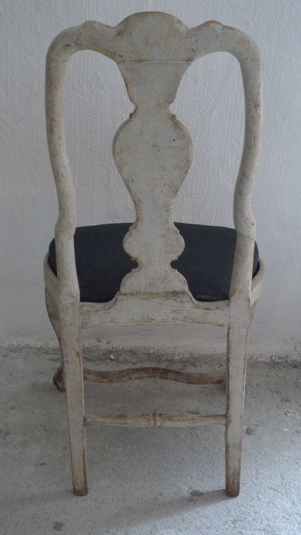 A Rare Set of 8 Swedish Rococo Chairs 5