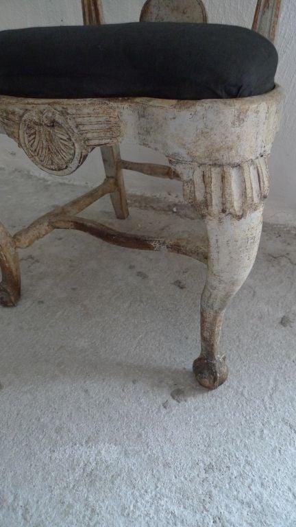 A Rare Set of 8 Swedish Rococo Chairs 6