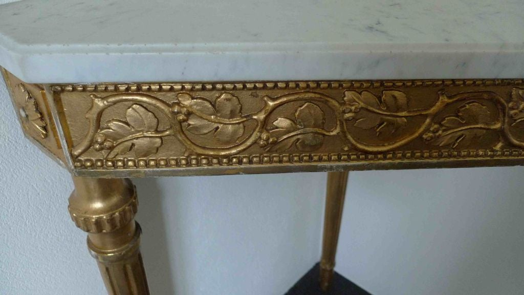 Corner Console Table swedish corner console table in pehr ljungs art for sale at 1stdibs