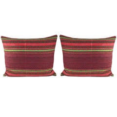 Pair of 19th Century Swedish Pillows
