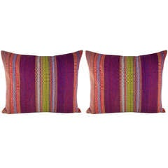 Pair of 19th Century Pillows
