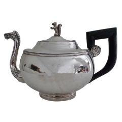 Teapot Austrian Silver Empire Period Austria