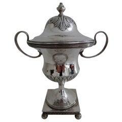 Swedish Gustavian Silver Sugar Bowl