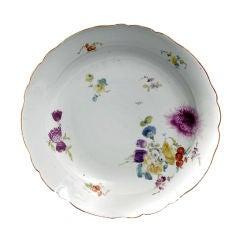 Large Meissen Plate