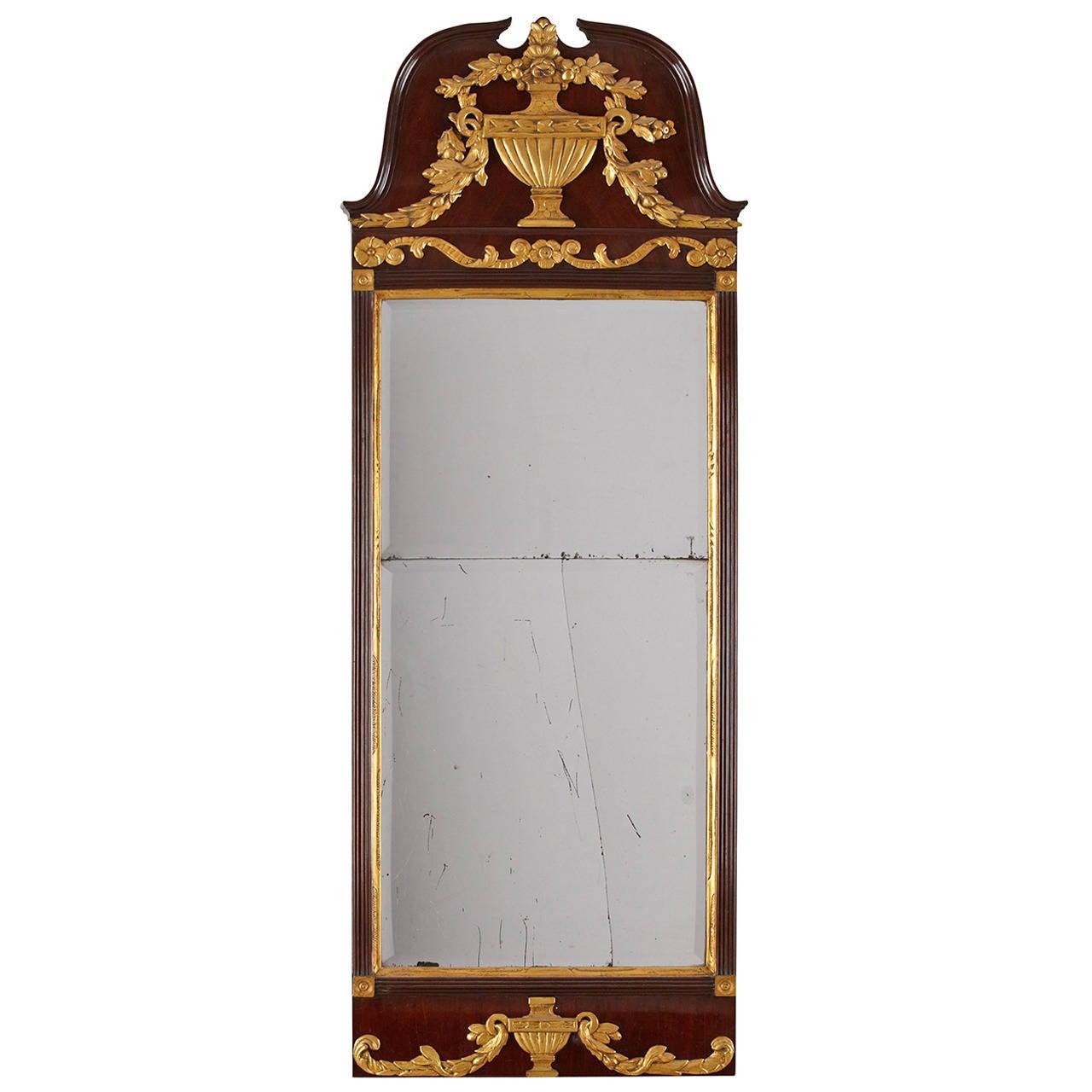 English 18th Century Mirror