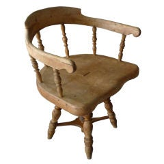 Swedish Rustic Chair