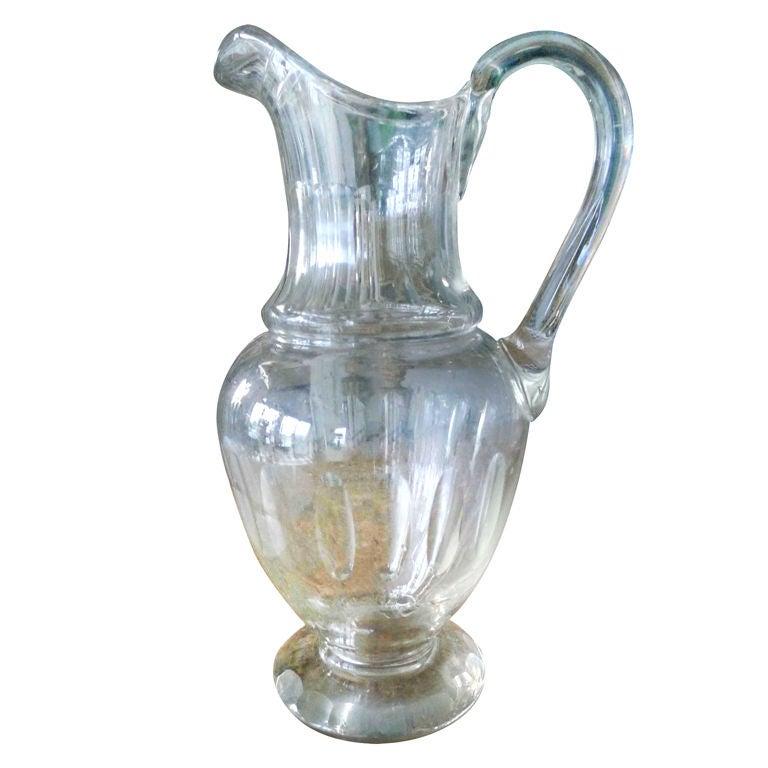 Swedish Glass Carafe
