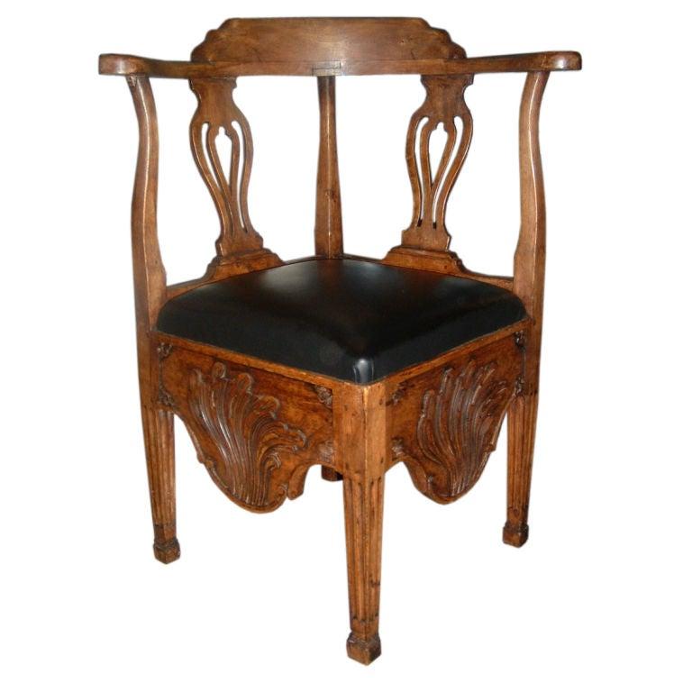 A Norwegian Corner Chair 1