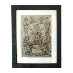Print French 19th Century Black and White France