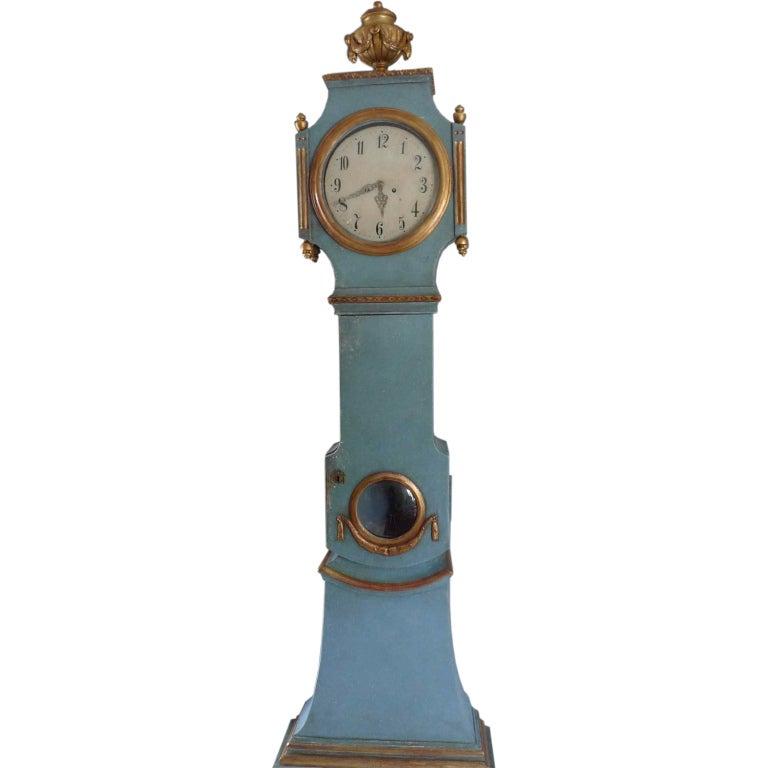 Gustavian Floor Clock At 1stdibs