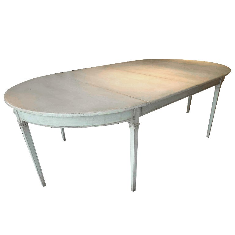 this gustavian dining table is no longer available