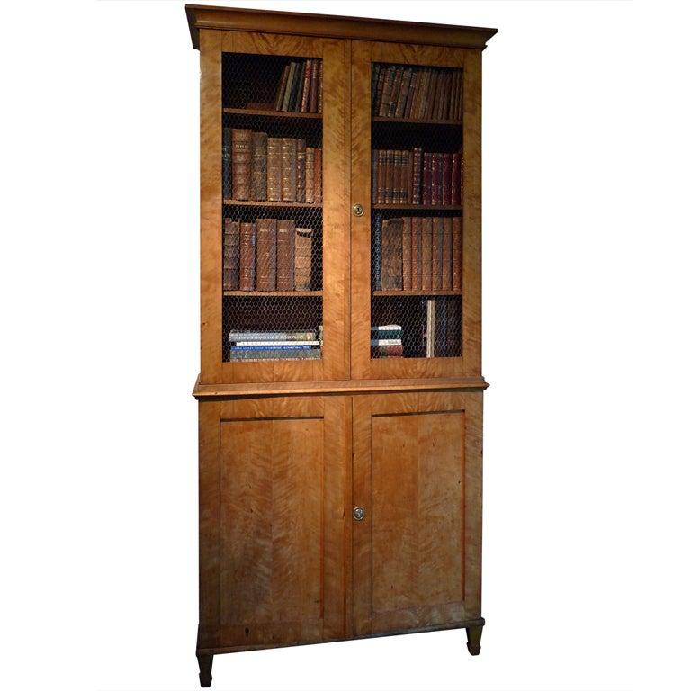 Bookcase in Birch For Sale