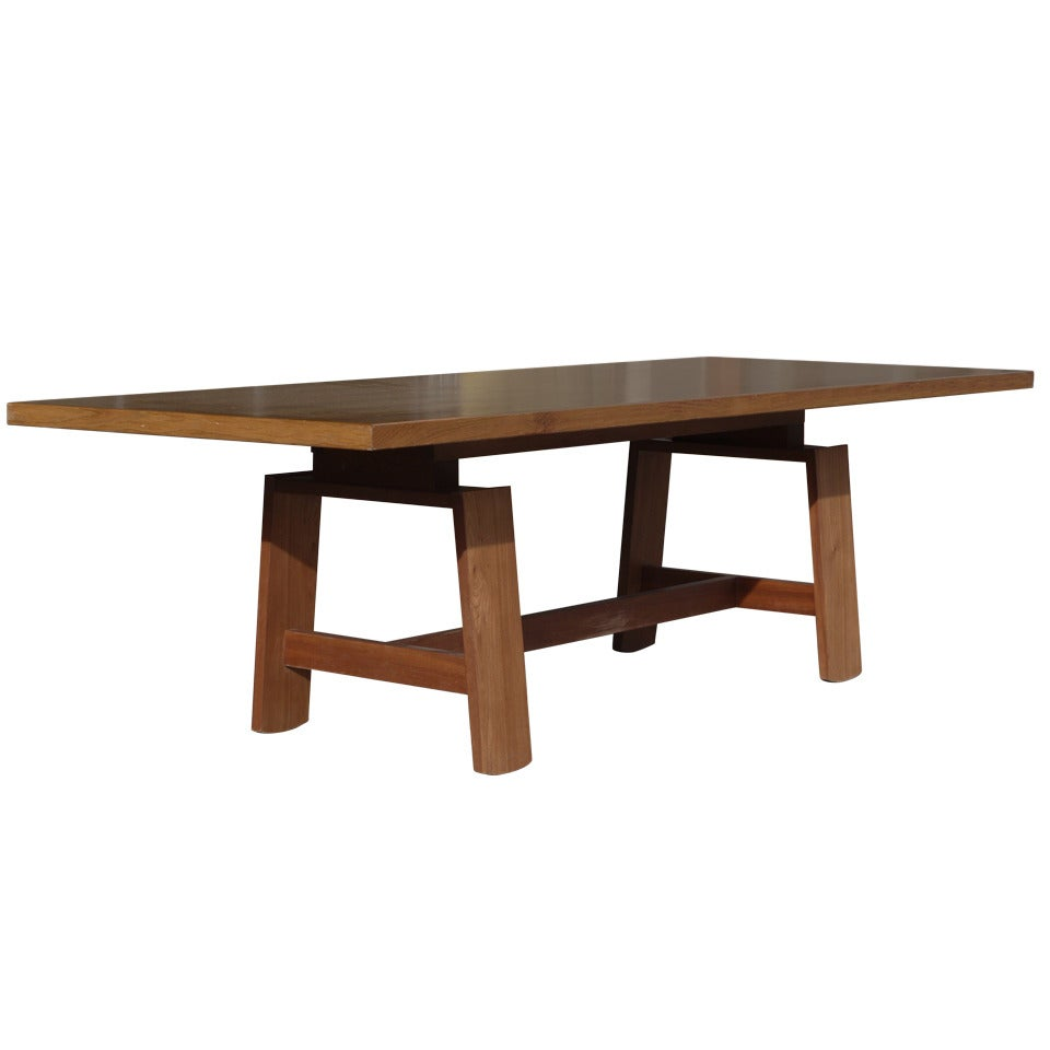 Large Dining Table by Silvio Coppola for Bernini