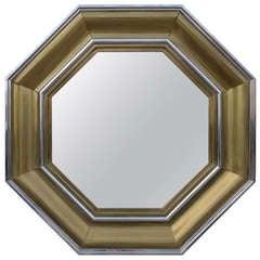 Octagonal Mirror by Michel Pigneres