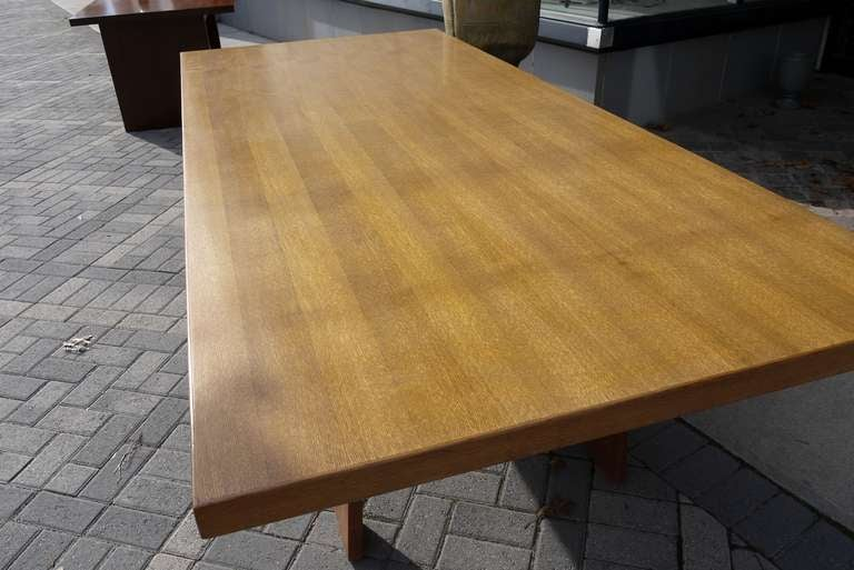Mid-Century Modern Large Dining Table by Silvio Coppola for Bernini For Sale