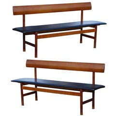 Pair of Borge Mogensen Benches