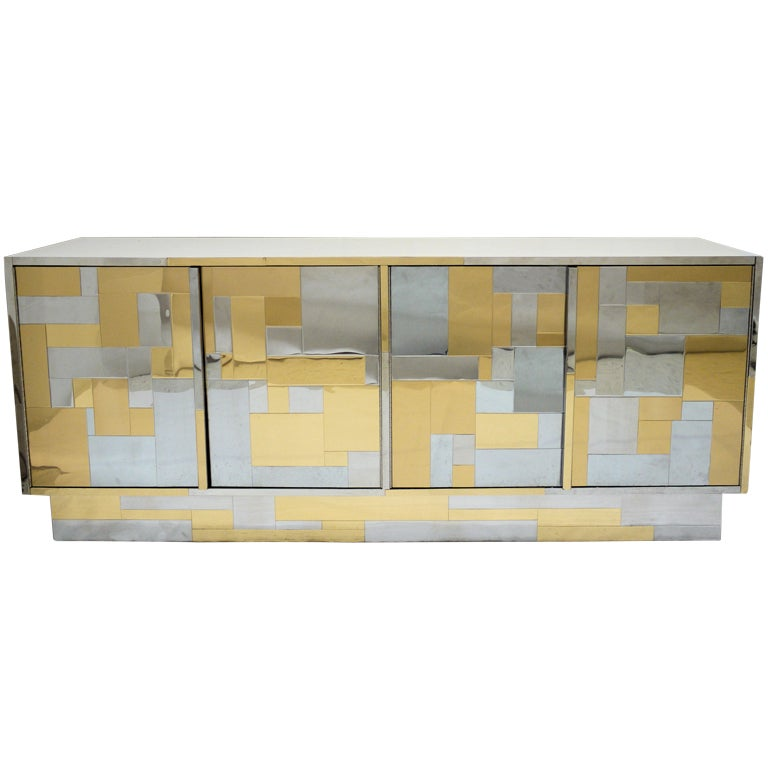 Paul Evans Cityscape Credenza for Directional at 1stdibs