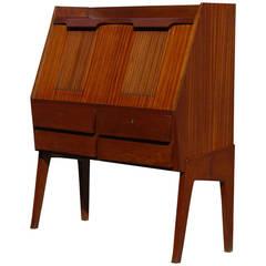 Spectacular Italian Modernist Drop Front Desk