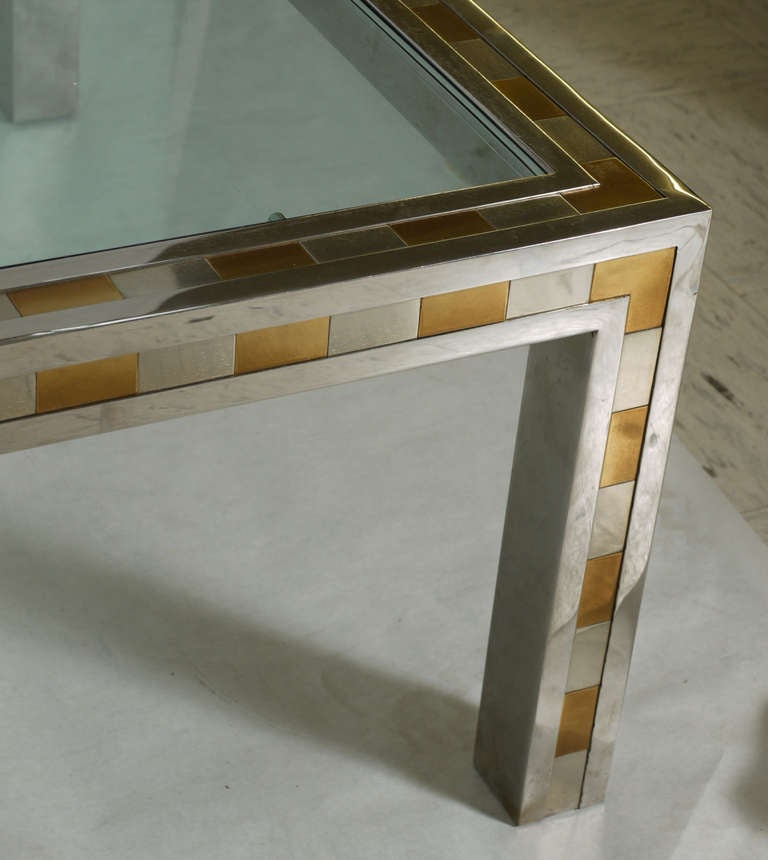 Studio Made Cityscape Style Parsons Coffee Table For Sale At 1stdibs