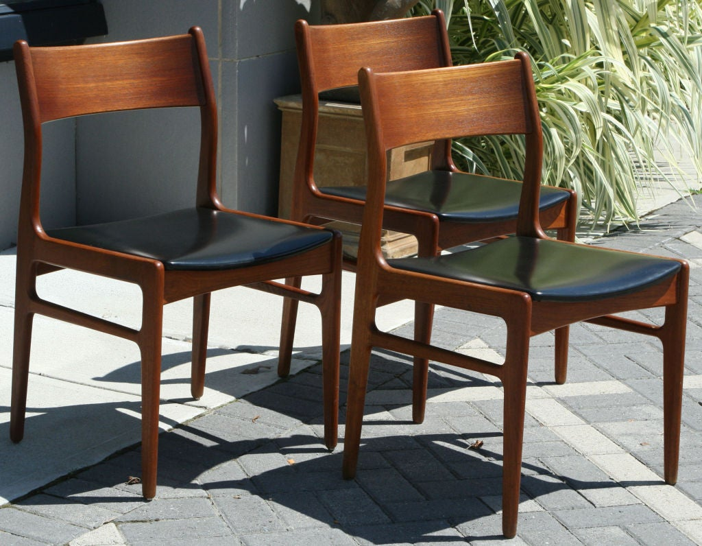 teak dining set by funder schmidt and madsen at 1stdibs