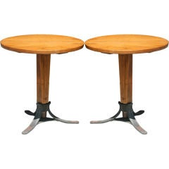 Pair of Italian Bistro Tables