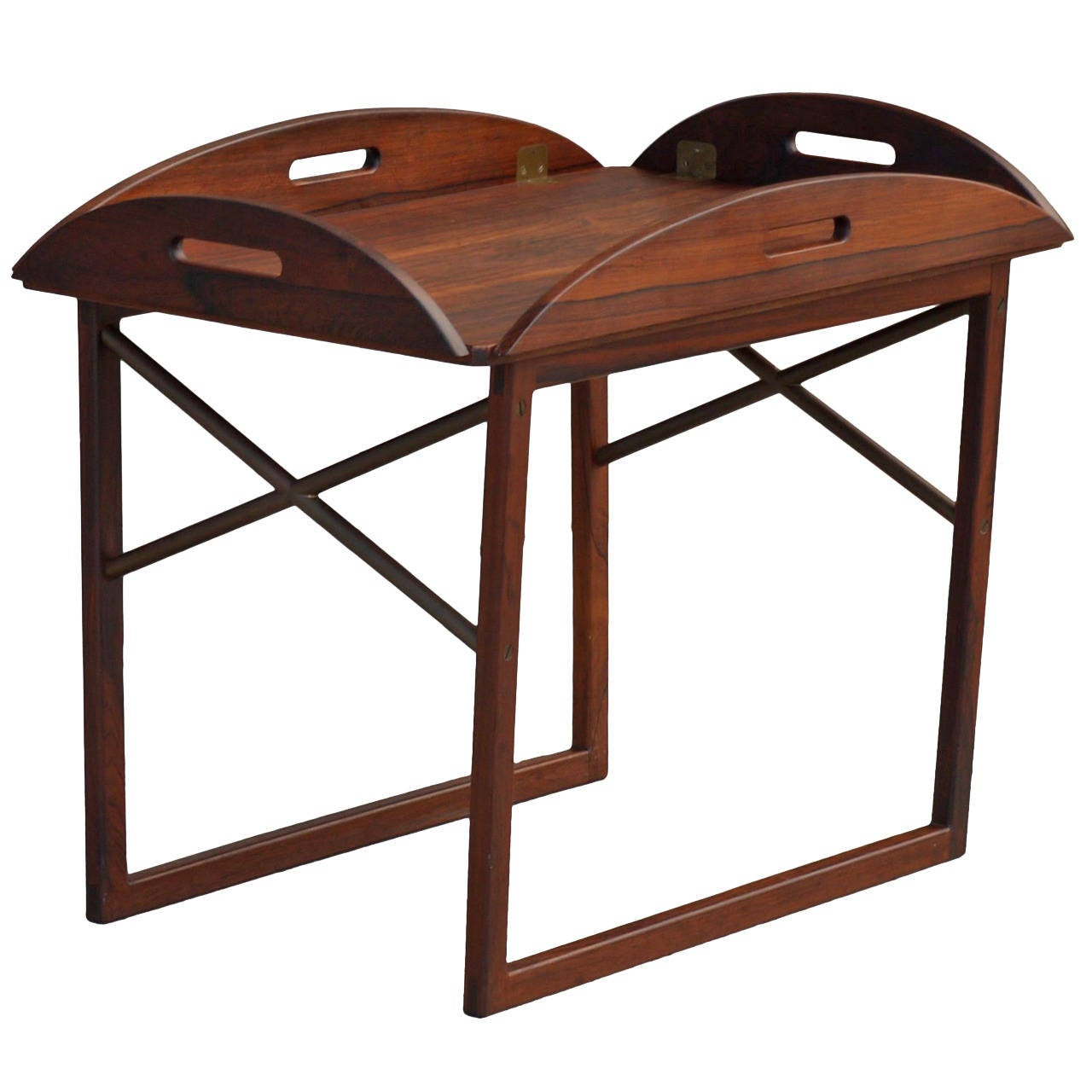 Svend Langkilde Tray Table in Rosewood by Illums Bolighus in Denmark