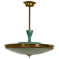 An Elegant Italian Light Fixture
