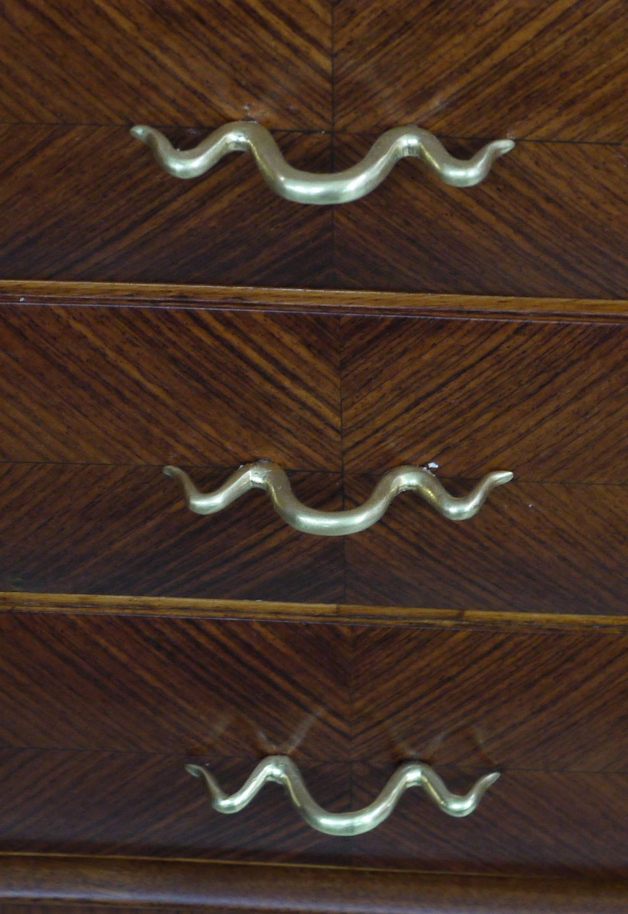 Rosewood Sideboard by Paolo Buffa In Good Condition For Sale In Kilmarnock, VA