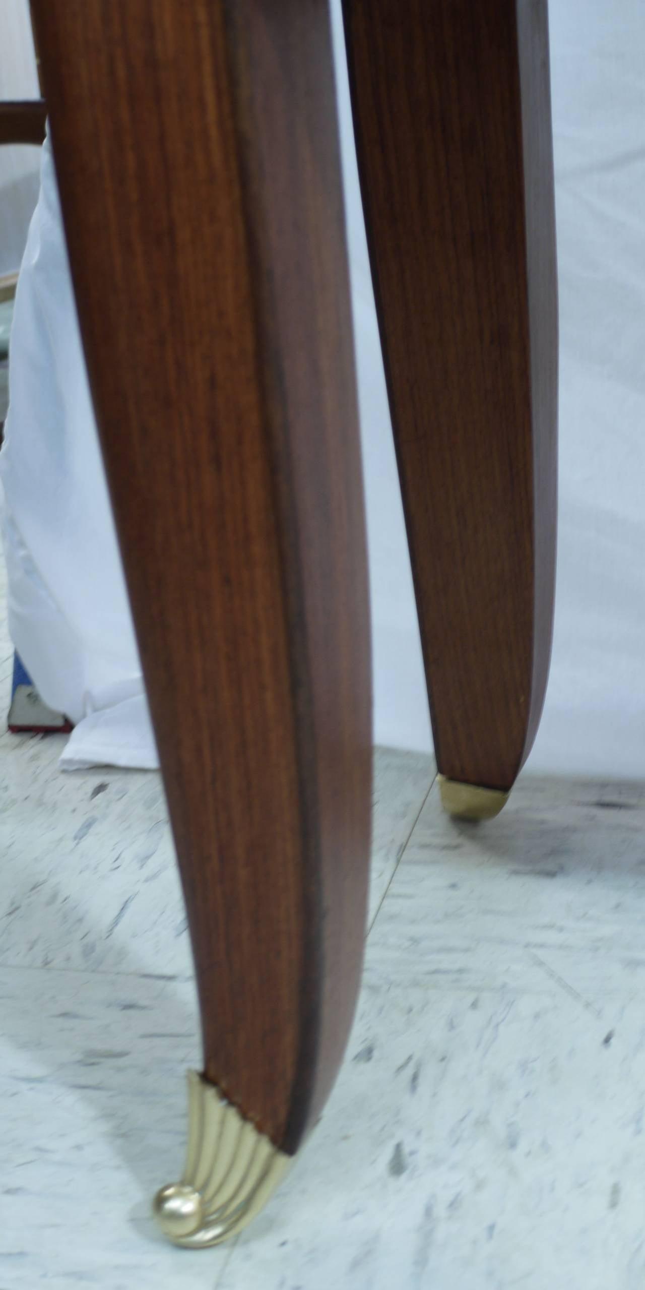 Veneer Rosewood Sideboard by Paolo Buffa For Sale
