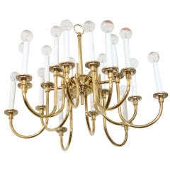 Vintage Eighteen-Light Stiffel Chandelier