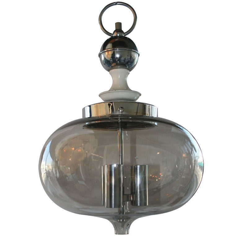 this italian pendant light with blown glass shade is no longer. Black Bedroom Furniture Sets. Home Design Ideas