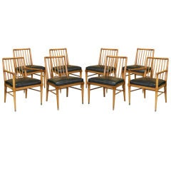 Set Of 8 Dining Chairs by William Pahlmann for Imperial