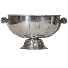 Stunning Art Deco Silverplate Footed Compote