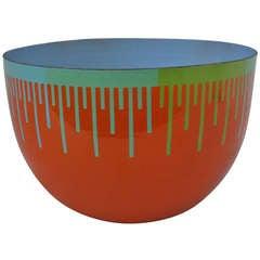 Enamel Bowl by Richard Anuszkiewicz
