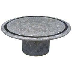 Maitland Smith Pedestal Coffee Table