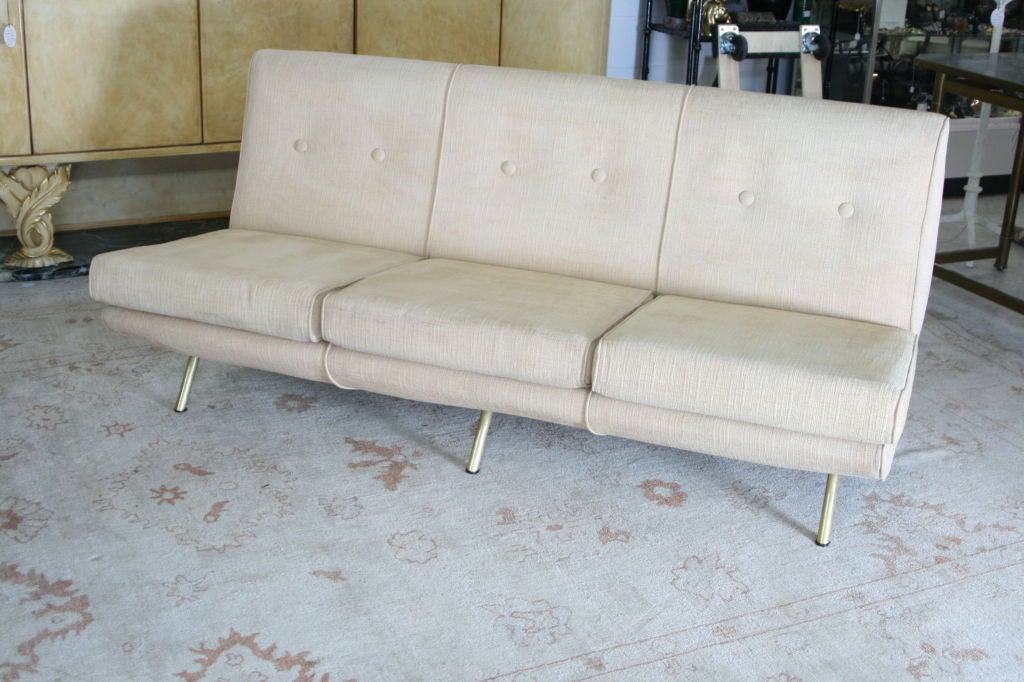 French Triennale Sofa by Marco Zanuso For Sale