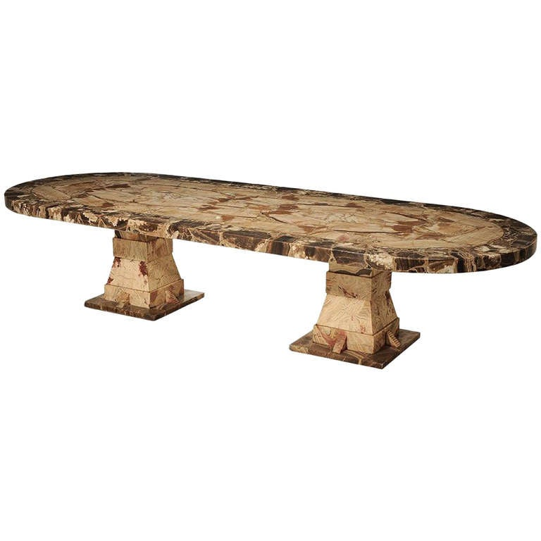 Palatial Onyx Dining Table by Muller