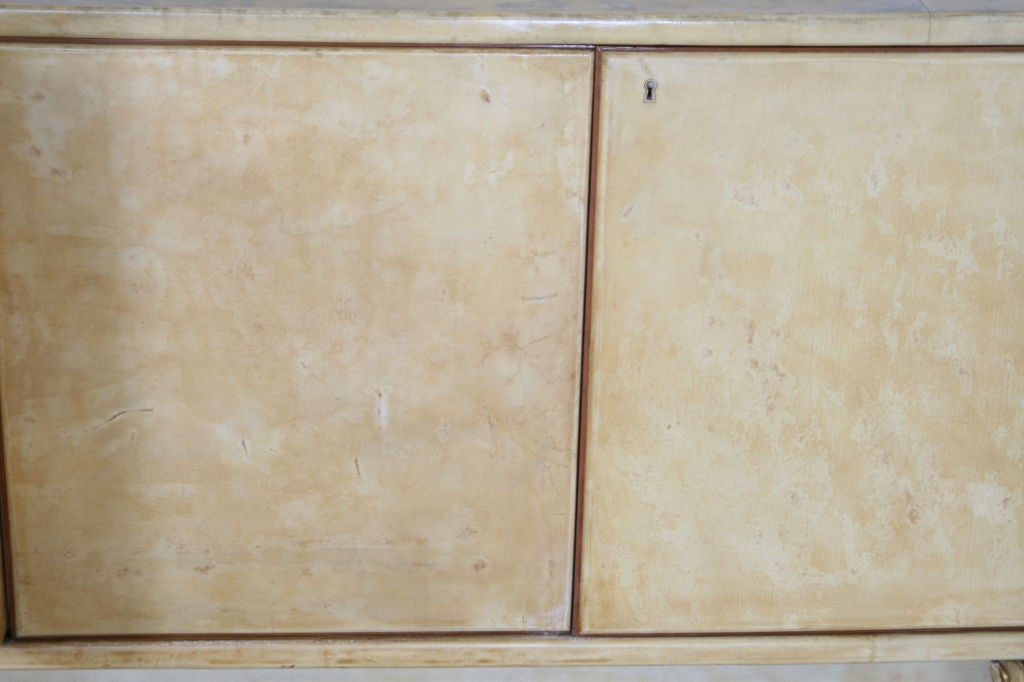 Parchment Paper Parchment Sideboard by Dassi For Sale