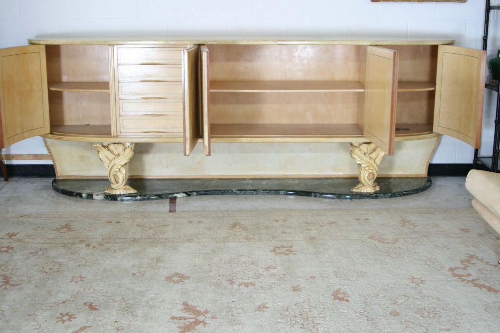 Parchment Sideboard by Dassi For Sale 1