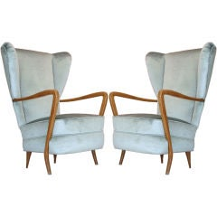 Pair of Paolo Buffa Wingbacks