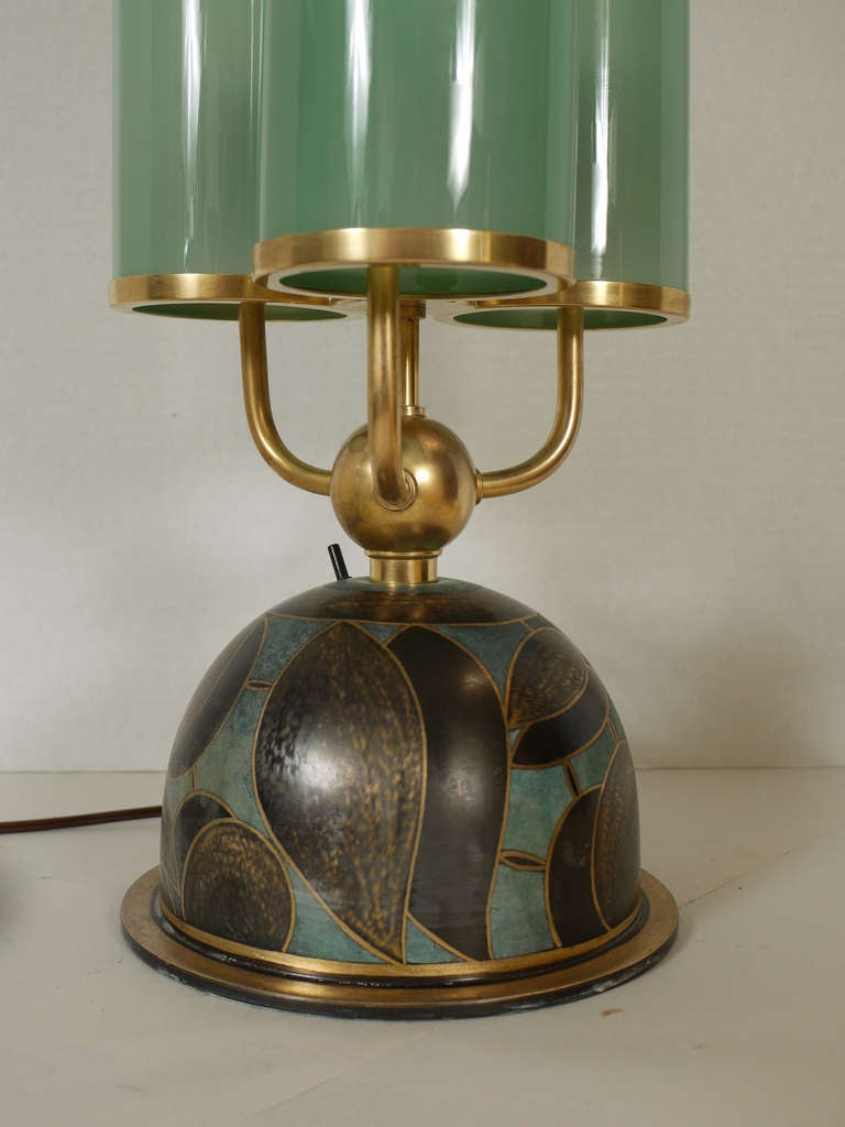 Rare Paul Haustein Table Lamp Circa 1929 For Sale At 1stdibs