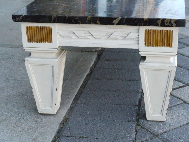 Coffee Table by Maison Jansen In Good Condition For Sale In Kilmarnock, VA