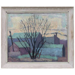 Early Modernist Oil Painting by Guernsey Ford