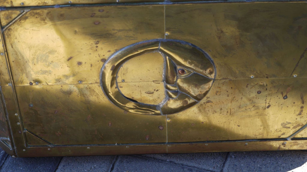 Sergio Bustamante Brass Coffee Table 4