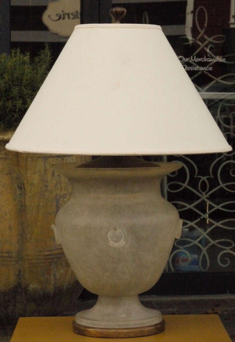 Seguso Scavo Glass Lamp for Sarreid at 1stdibs