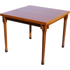 Rare Ico Parisi Teak Extendable Dining Table