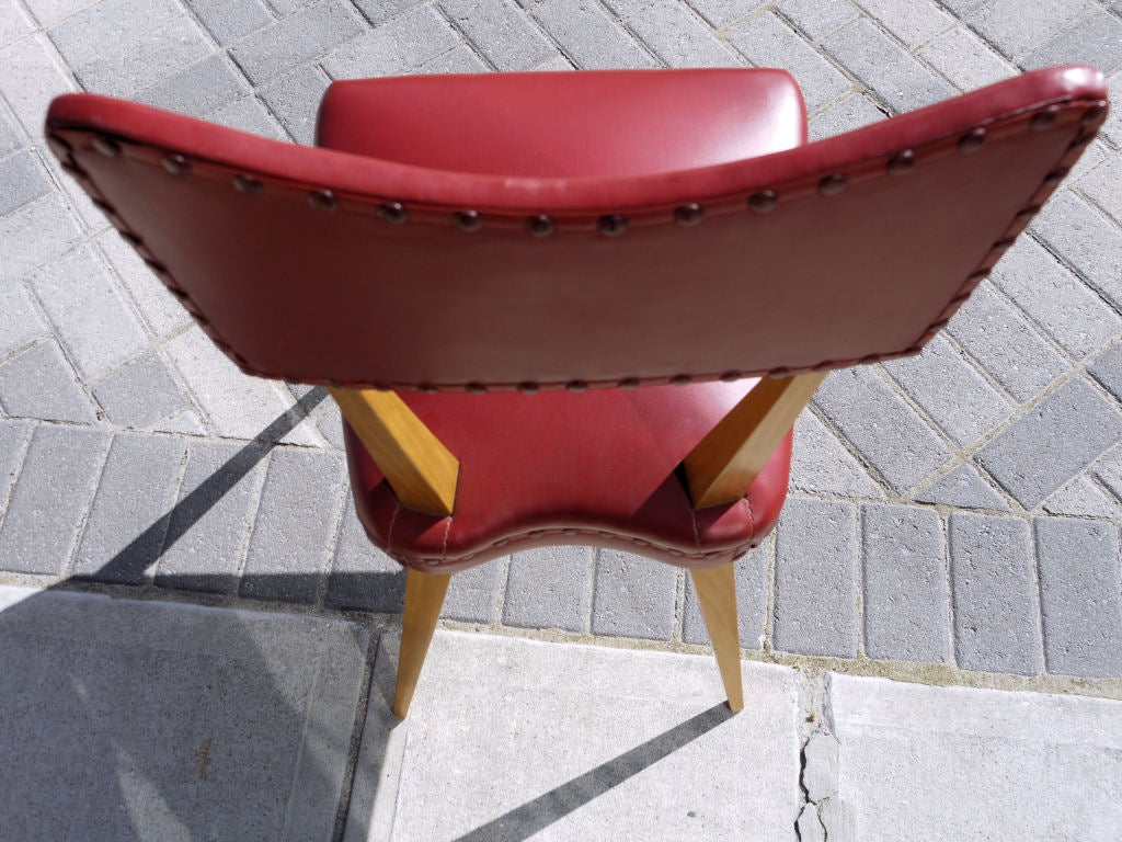 Stunning Set of 8 Italian Dining Chairs In Good Condition For Sale In Kilmarnock, VA