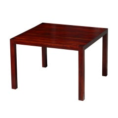 Solid Rosewood Parsons Table
