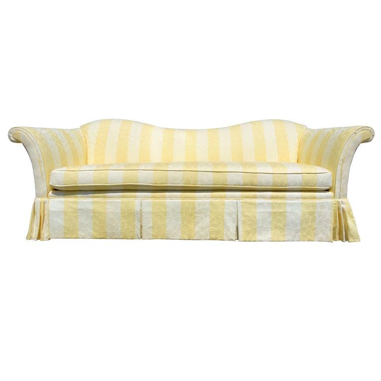 Dorothy Draper Style Sofa At 1stdibs